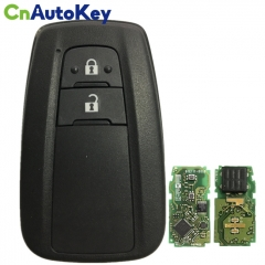 CN007179 For Toyota Prius 2016+ Smart Key, 2Buttons, BR1EW P1 A9 DST-AES Chip, 434MHz 89904-47560 Keyless Go