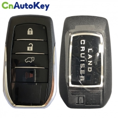 CS007077 For Toyota Land Cruiser Proximity Remote Fob 4 Buttons Key Fob Shell