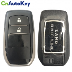 CS007075  For Toyota Land Cruiser Proximity Remote Fob 2 Buttons Key Fob Shell