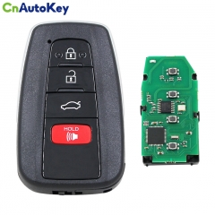 CN007182 4 Button Remote Smart Car Key Fob ASK 314.3MHz with 8A Chip FCC ID 14FBC-0351-US for Toyota Camry 2018 2019 HYQ14FBC