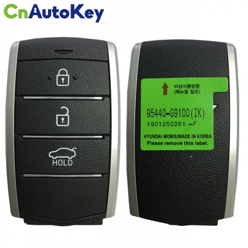 CN020138 For Hyundai Genesis 2019 Genuine Smart Remote Key 3 Buttons 433MHz 95440-G9100