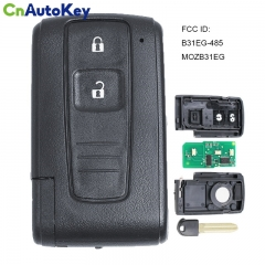 CN007187 Smart 2 button Remote Key fob ASK 315MHz for Toyota Prius 2004-2009 FCC ID B31EG-485 MOZB31EG TOY43