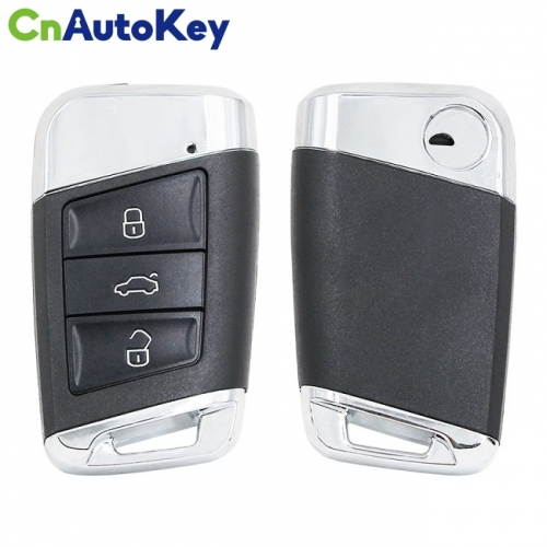 CN001076  Smart Key for VW Passat Frequency 434 MHz Transponder ID48 ( ID48 CAN ) Part No 3G0 959 752 Keyless GO