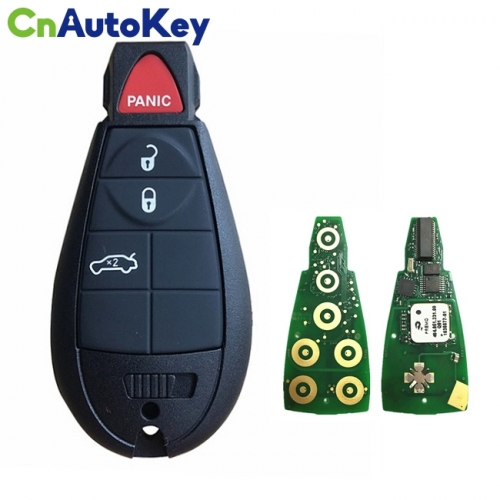 CN015093 2008-2014 Dodge Challenger  Charger  4-Button Keyless Go Fobik  PN 56046695 AE  IYZ-C01C