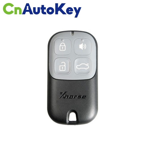 XKXH00EN Wire Remote Key Shell Separate 4 Buttons Black English 10pcs/lot