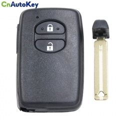 CN007195 2 Buttons Black 433MHz FSK F433 Board ID74-WD04 Smart Remote Key For Toyota Corolla 89904-0F010 B75EA