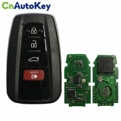 CN007196 4 Button Remote Smart Car Key Fob ASK 434MHz with 8A Chip FCC ID 14FCC-0410 for Toyota Camry 2018 2019 HYQ14FCC