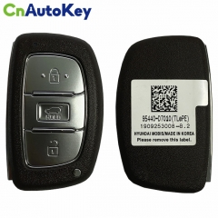 CN020145 Hyundai Tucson 2019-2020 Genuine Smart Remote Key 4 Buttons Auto Start Type 433MHz Genuine Transponder HITAG3 95440-D7110