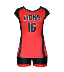 Women's Sublimation Custom Volleyball Uniform 2019 Style V1073