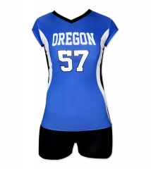 Women's Sublimation Custom Volleyball Uniform 2019 Style V1063