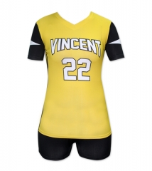 Women's Sublimation Custom Volleyball Uniform 2019 Style V1070