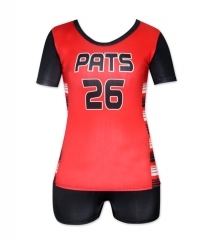 Women's Sublimation Custom Volleyball Uniform 2019 Style V1071