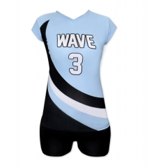 Women's Sublimation Custom Volleyball Uniform 2019 Style V1062