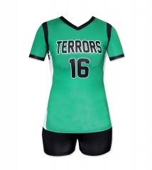 Women's Sublimation Custom Volleyball Uniform 2019 Style V1078