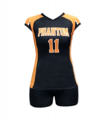 Women's Sublimation Custom Volleyball Uniform 2019 Style V1083