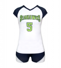 Women's Sublimation Custom Volleyball Uniform 2019 Style V1087