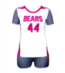 Women's Sublimation Custom Volleyball Uniform 2019 Style V1068