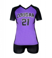 Women's Sublimation Custom Volleyball Uniform 2019 Style V1072