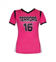 Women's Sublimation Custom Volleyball Shirt 2019 Style V1050