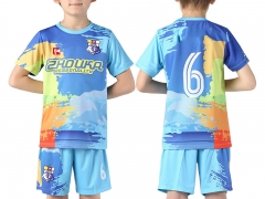 Kids  Sublimation Custom Soccer Jersey 2019 Style S1176