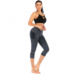 Women's Yoga Pants Fitness Pants Black QK2325