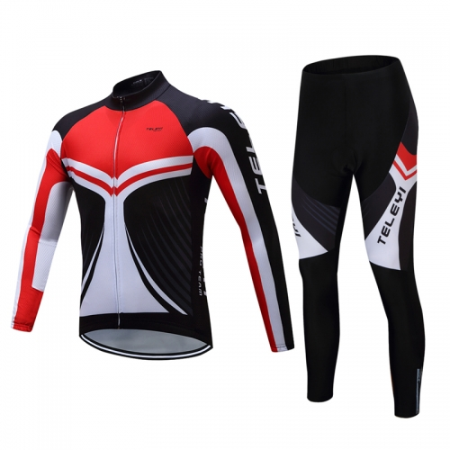 Men's Long Sleeve Cycling Set CYM104