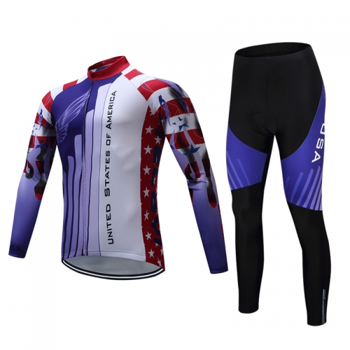 Men's Long Sleeve Cycling Set CYM103