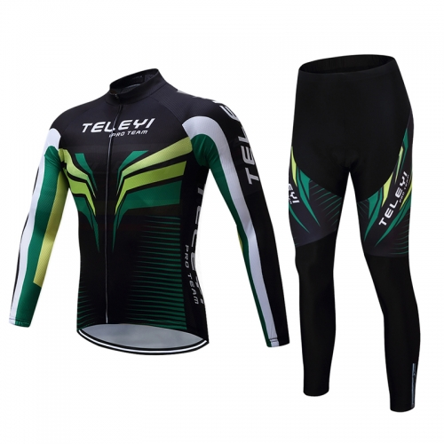 Men's Long Sleeve Cycling Set CYM105