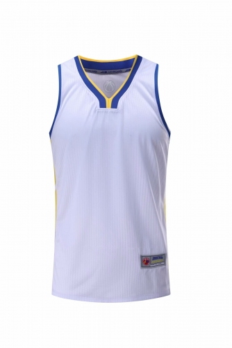 Men's Basketball Club Team Custom Swingman Jersey - White (Thai Version) BAT0030