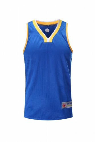 Men's Basketball Club Team Custom Swingman Jersey - Blue (Thai Version) BAT0031