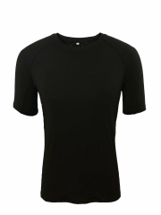 Men's Running Shirt Running Gear -Black RNM010