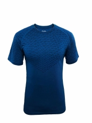Men's Running Shirt Running Gear -Blue RNM008