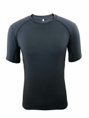 Men's Running Shirt Running Gear -Black RNM012