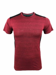 Men's Running Shirt Running Gear -Red RNM019