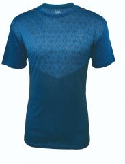 Men's Running Shirt Running Gear -Blue RNM003
