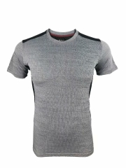 Men's Running Shirt Running Gear -Gray RNM022