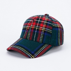 High Quality Lattice Cheap Soft Fashion Baseball Caps