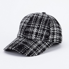 Comfortable Touching High Quality Lattice Soft Fashion Baseball Caps