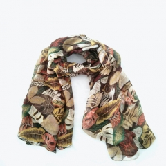 Similar Cotton Handfeeling Hot Selling 100% Viscose Beautiful Scarf