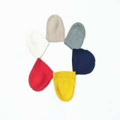 Cute All-matching Bright Colours Knitted Spring Autumn Winter Hat