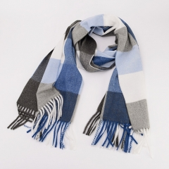 Similar Cotton Touching Plaid Tassels Classic Graceful Desinable Winter/Autumn All-matching Scarf