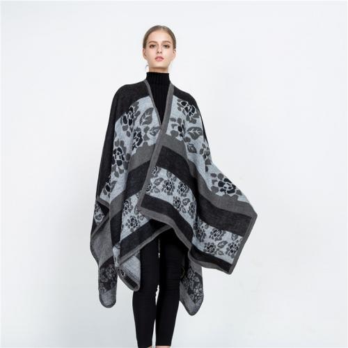 Women Elegant Cardigan Shawl Wrap Sweater Coat for Spring and Winter