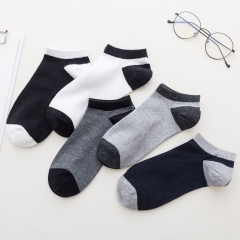 Factory Price Cheap Ankle Socks Cotton Casual Breathable Disposable Socks Short Mens Boat Funky Socks