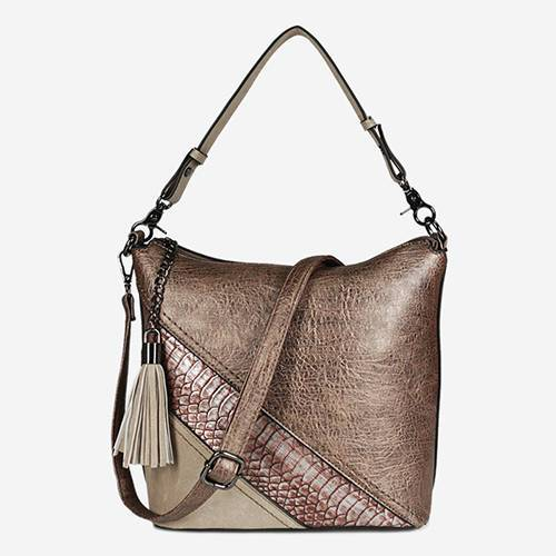 PU2015 Top Fashion PU Leather Snake Pattern Women Handbags On Sale