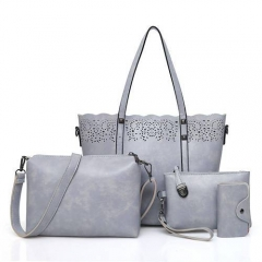 1917 2019 Trendy hollow out 4 pieces handbags for women