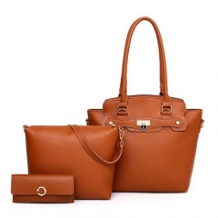 1926 Fashion trendy Long handle famous brand handbags set for Women