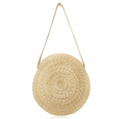 BC0126 2019 Newest Round style Wholesale Straw Handbag