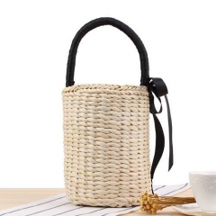 BC0172 New model White Paper Straw handbag for Women