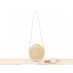 BC0161 Small MOQ Wholesale Cotton Long tassel Crossbody Sling Bag
