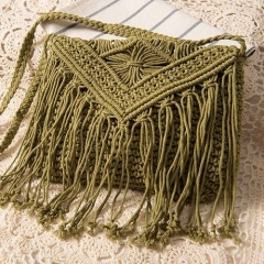 BC0167 Best selling Cotton  knitting Crossbody Bag For Women